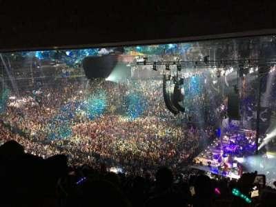 Madison Square Garden, sección: 214, fila: 12, asiento: 12