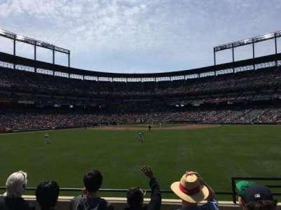 Oriole Park at Camden Yards, sección: 92, fila: 5, asiento: 2