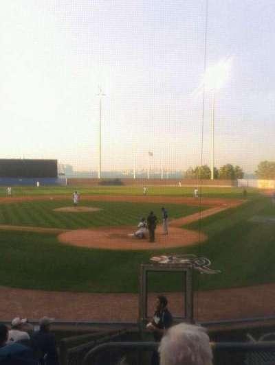 Richmond County Bank Ballpark, sección: 9, fila: 6, asiento: 1
