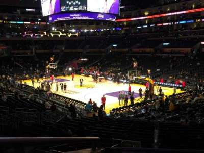 Staples Center, sección: PR10, fila: 3, asiento: 2