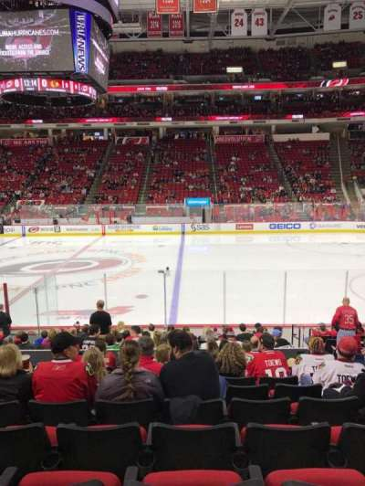 PNC Arena, sección: 118, fila: Q, asiento: 5