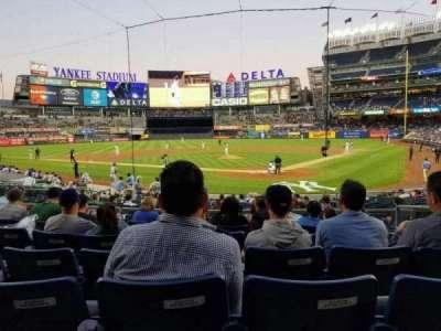 Yankee Stadium sección 121a