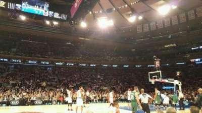 Madison Square Garden, sección: 5, fila: 3, asiento: 10