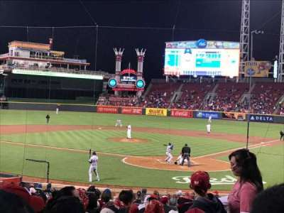 Great American Ball Park, sección: 121, fila: BB, asiento: 103
