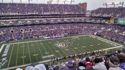 M&T Bank Stadium, sección: 529, fila: 8, asiento: 10