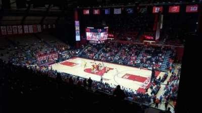 Louis Brown Athletic Center, sección: 217, fila: S, asiento: 4
