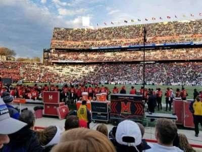 Maryland Stadium, sección: 25, fila: F, asiento: 8