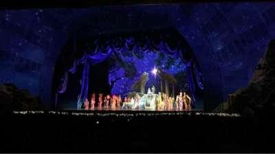 Radio City Music Hall, sección: Orchestra 2, fila: S, asiento: 206