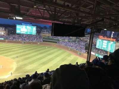 Wrigley Field, sección: 530, fila: 9, asiento: 101
