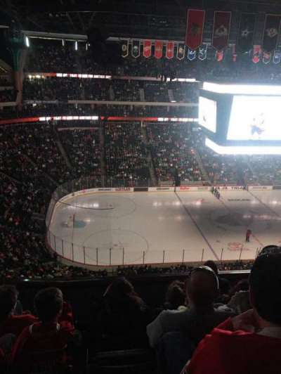 Xcel Energy Center, sección: 206, fila: 5, asiento: 15