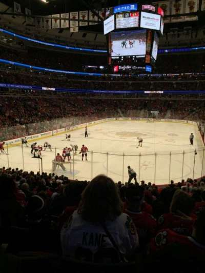 United Center, sección: 105, fila: 19, asiento: 15