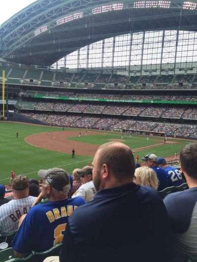 Miller Park, sección: 229, fila: 5, asiento: 16