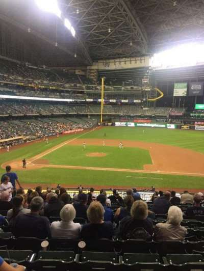 Miller Park, sección: 213, fila: 13, asiento: 6