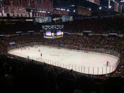 Joe Louis Arena, sección: 204a, fila: 17, asiento: 9