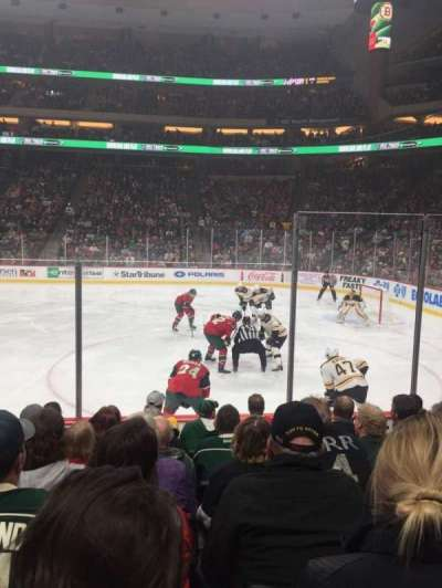 Xcel Energy Center, sección: 115, fila: 7, asiento: 5