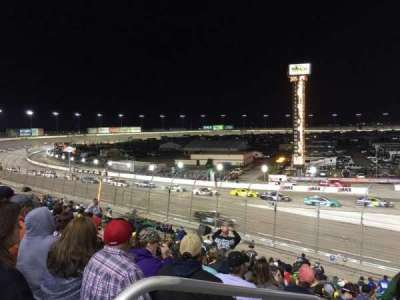 Texas Motor Speedway, sección: Pit Side Lower 422, fila: 25, asiento: 1