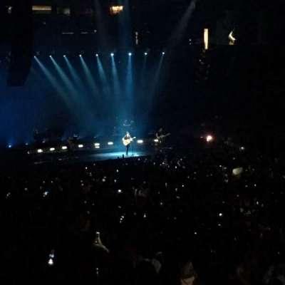 Oracle Arena, sección: 111, fila: 25, asiento: 7,8