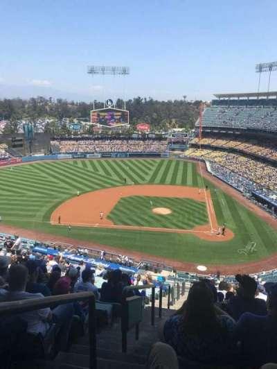 Dodger Stadium, sección: 9RS, fila: T, asiento: 24