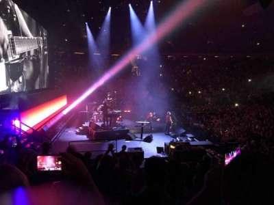 Madison Square Garden, sección: 115, fila: 10, asiento: 5