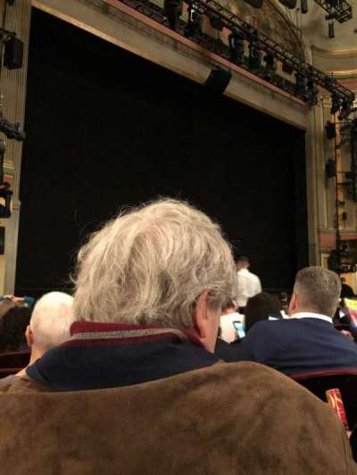 Neil Simon Theatre, sección: Orch, fila: L, asiento: 17