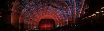 Radio City Music Hall, sección: 2nd mezzanine 6, fila: B, asiento: 609