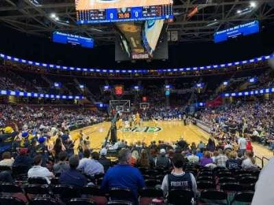 Quicken Loans Arena, sección: 117, fila: 3, asiento: 18