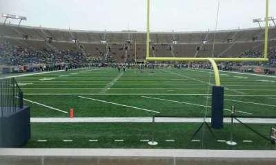 Notre Dame Stadium, sección: 19, fila: 7, asiento: 24