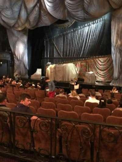 Majestic Theatre, sección: Right Orchestra, fila: K, asiento: 14