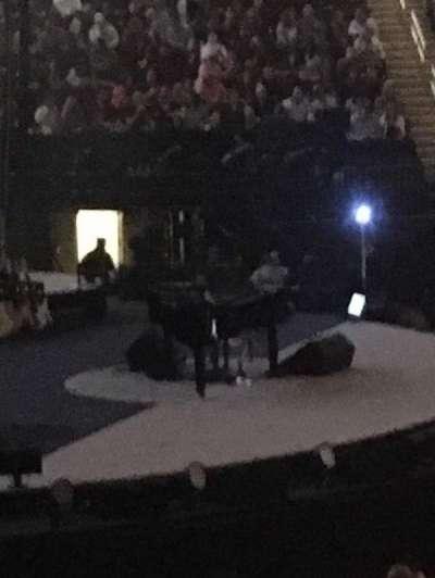 Madison Square Garden, sección: 116, fila: 12, asiento: 4