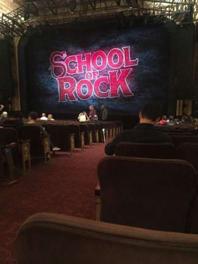 Winter Garden Theatre, sección: Orchestra, fila: T, asiento: 2