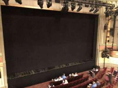 Neil Simon Theatre, sección: Front Center Mezzanine, fila: B, asiento: Aidle