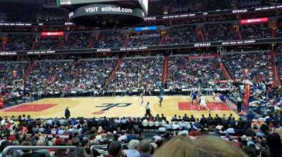 Verizon Center, sección: 101, fila: R, asiento: 3