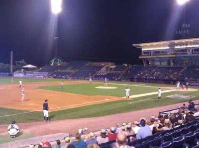 Richmond County Bank Ballpark, sección: 4, fila: L, asiento: 15