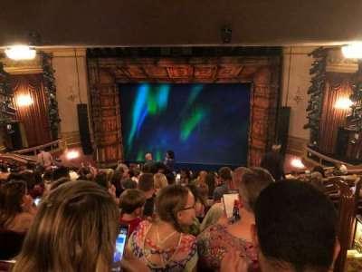 St. James Theatre, sección: Mezz, fila: Q, asiento: 101