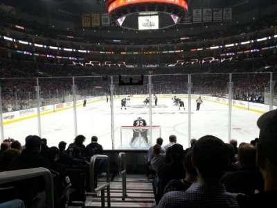 Staples Center, sección: 106, fila: 9, asiento: 21