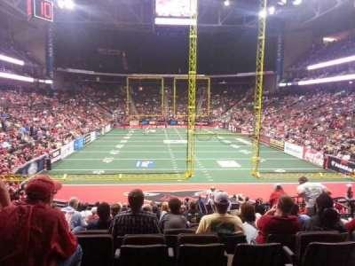 Jacksonville Veterans Memorial Arena, sección: 120, fila: S, asiento: 14