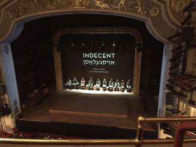 Cort Theatre, sección: Balcony, fila: B, asiento: 114