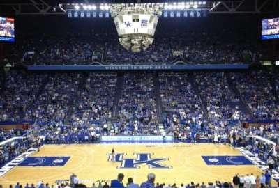 Rupp Arena, sección: 14, fila: X, asiento: 6