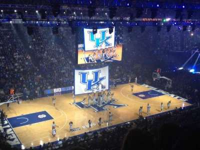 Rupp Arena, sección: 215, fila: C, asiento: 24