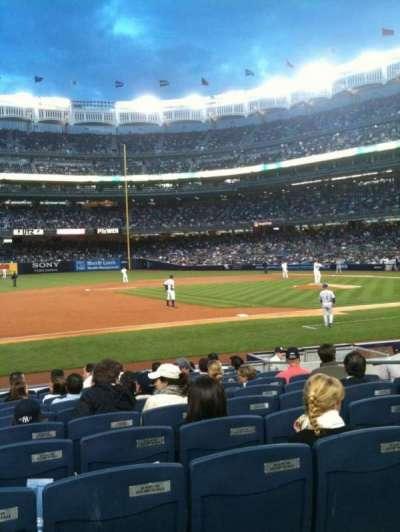 Yankee Stadium sección 126