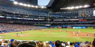 Rogers Centre, sección: 117R, fila: 25, asiento: 5