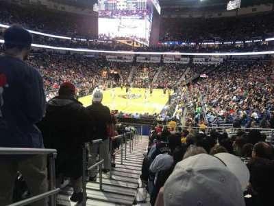 Smoothie King Center, sección: 117, fila: 22, asiento: 17