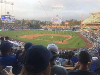 Dodger Stadium, sección: 111LG, fila: L, asiento: 4