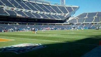 Soldier Field, sección: field, se corner