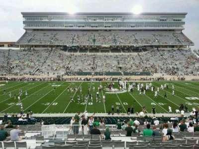 Spartan Stadium, sección: 9, fila: 41, asiento: 15