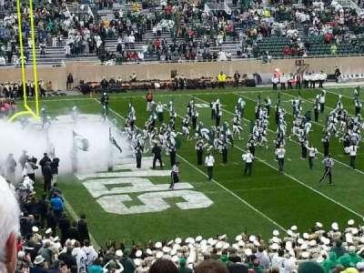 Spartan Stadium, sección: 28, fila: 45, asiento: 27