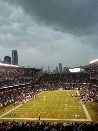 Soldier Field, sección: 321, fila: 15, asiento: 19