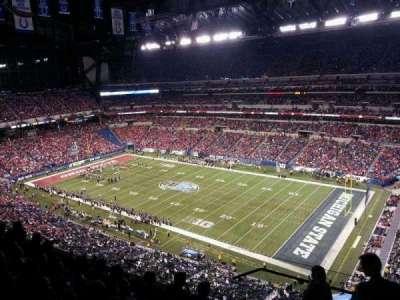 Lucas Oil Stadium, sección: 635, fila: 6, asiento: 1