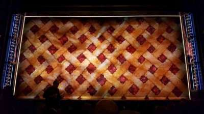Brooks Atkinson Theatre, sección: orch, fila: h, asiento: 108