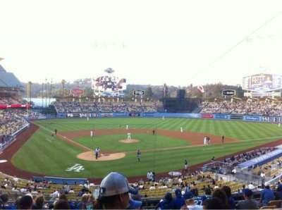 Dodger Stadium, sección: 110LG, fila: L, asiento: 6